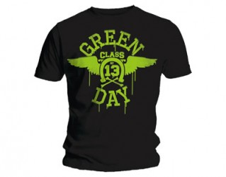 T-shirt Green Day neon wings