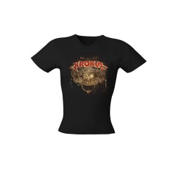 Girlie Shirt Krokus hoodoo