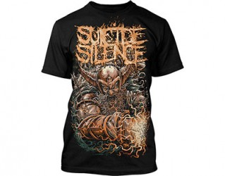 T-Shirt Suicide Silence viking