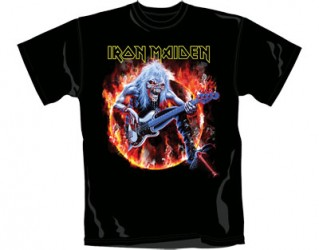 T-Shirt Iron Maiden fear live