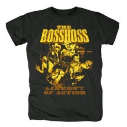 T-Shirt The BossHoss Liberty