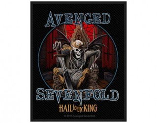 Aufnäher Avenged Sevenfold the king