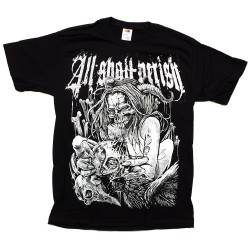 T-Shirt All Shall Perish bird flu