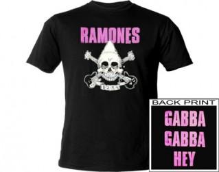 T-Shirt Ramones  gabba gabba