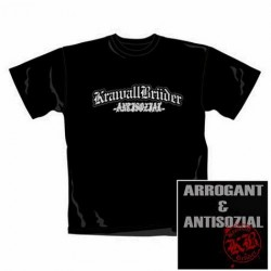 T-Shirt Krawall Brüder antisozial