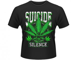 T-Shirt Suicide Silence leaves