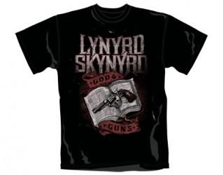 T-Shirt Lynyrd Skynyrd god & guns