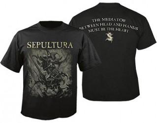 T-Shirt Sepultura mediator