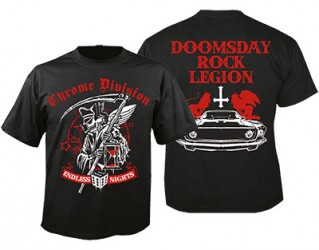 T-Shirt Chrome Division endless night
