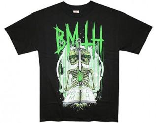 T-Shirt Bring me the Horizon double skeleton