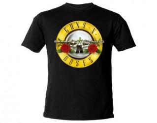 T-Shirt Guns N Roses guns logo