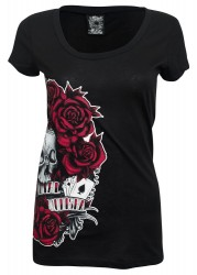 Metal Mulisha Girlie T-Shirt lady luck