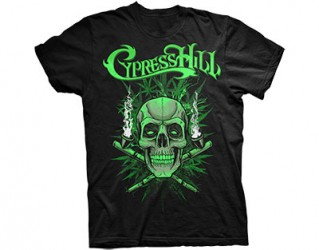 T-Shirt Cypress Hill skull pipes