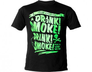 Mad Caddies drink smoke