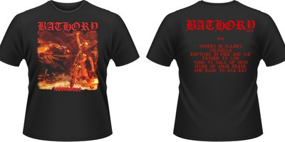 Girlie Shirt Bathory hammerheart