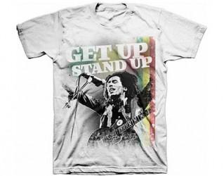 T-Shirt Bob Marley get up