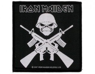Aufnäher Iron Maiden crossed