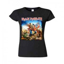 Girlie Shirt Iron Maiden trooper