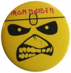 Button Iron Maiden eddie