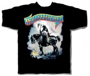 T-Shirt Molly Hatchet warrior