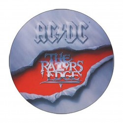 Button AC/DC razors