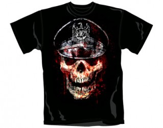 T-Shirt Slayer skull hat