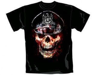 T-Shirt Slayer skull hat