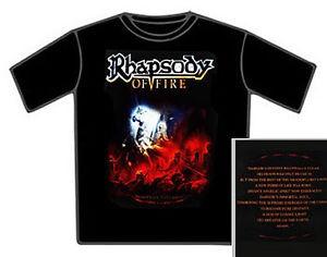 T-shirt Rhapsody of fire
