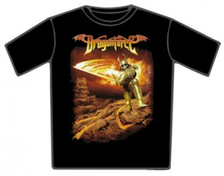 T-Shirt Dragonforc flame