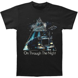 T-Shirt Def Leppard on through