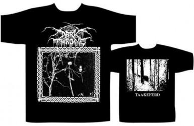T-Shirt Dark Throne taakeferd