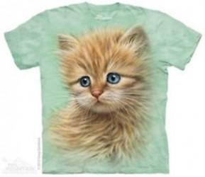 Kinder T-Shirt Kätzchen Portrait