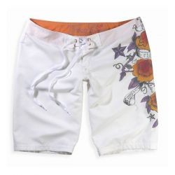 Fox Girls Bermuda Pipeline White