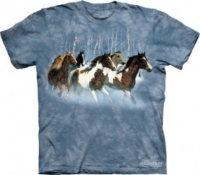 Kinder T-Shirt Pferd