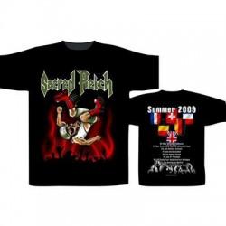 T-Shirt Sacred Reich Tour 2009