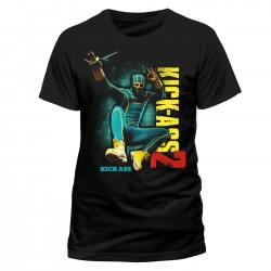 T-Shirt Kick Ass 2 jump