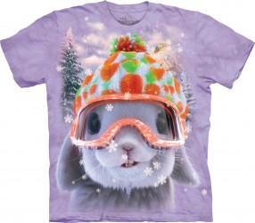 Kinder T-Shirt Schnee Hase