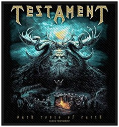 Aufnäher Testament dark roots
