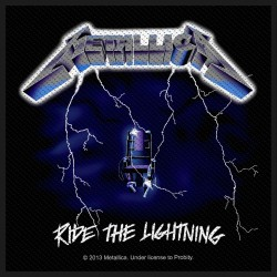 Aufnäher Metallica Lightning