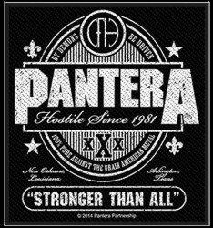 Aufnäher Pantera Stronger