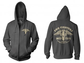 Hoody Zip Foo Fighters  There is Nothing
