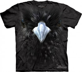 T-Shirt The Mountain Blackbird Vogel