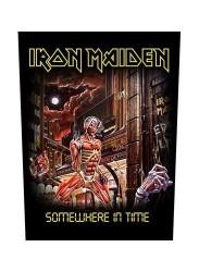 Rückenaufnäher Iron Maiden somewere in time