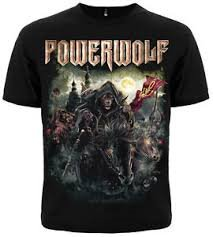 T-Shirt Powerwolf Metal Mass