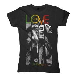 Girlie Shirt Bob Marley one Love