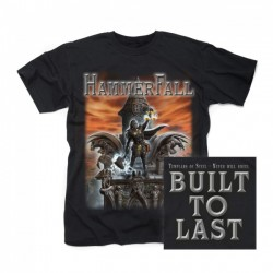 T-Shirt Hammerfall built to