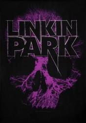 Textilposter Linkin Park skull