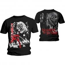 T-Shirt Iron Maiden Number of the Beast