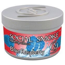 Social Smoke Blue Raspberry 100g