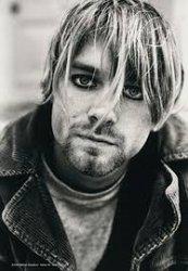 Textilposter Kurt Cobain